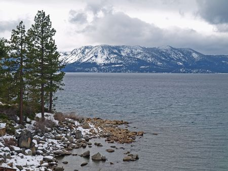 Landscape of Lake Tahoe Stock Photo - 6414370