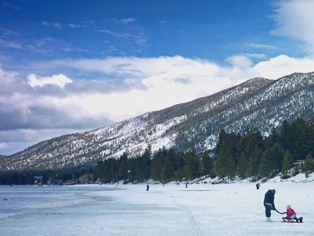 Landscape of Lake Tahoe Stock Photo - 6414365