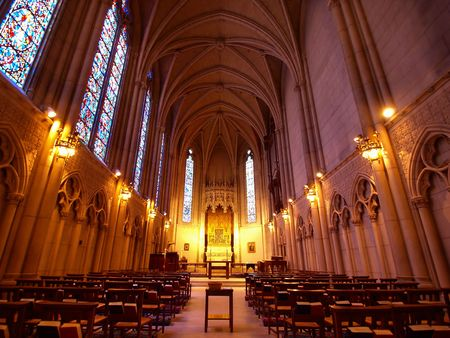 pious: The Chapel of Grace in Grace Cathedral,San Francisco