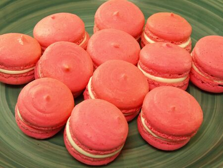 gastronome: These are some homemade dessert - macaron.