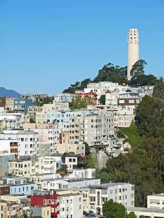 coit: The Coit Tower in San Francisco