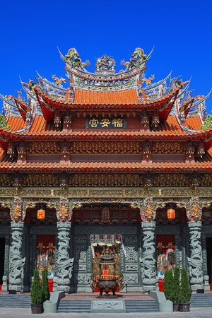 taoism: Taoism Temple in Tainan, Taiwan Stock Photo