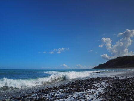 coastline: Beautiful coastline of east Taiwan Stock Photo