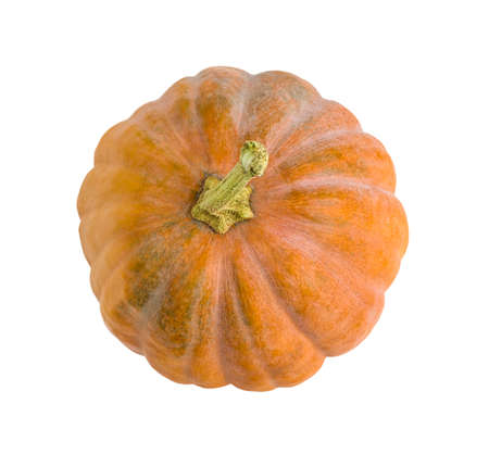 Pumpkin isolated on a white background.