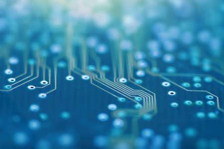 High Tech Circuit Board. Network Technology Background. Technology innovation.