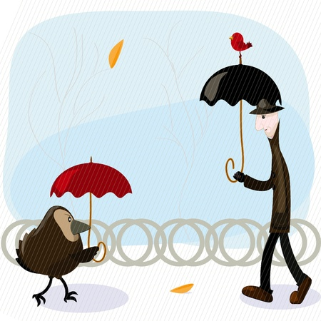 rain man Stock Vector - 9294499