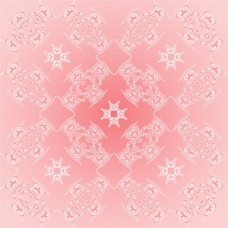 pink wallpaper with a pattern - seamless texture Stock Vector - 10055779
