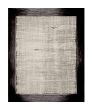 wooden frame isolated on a white background photo