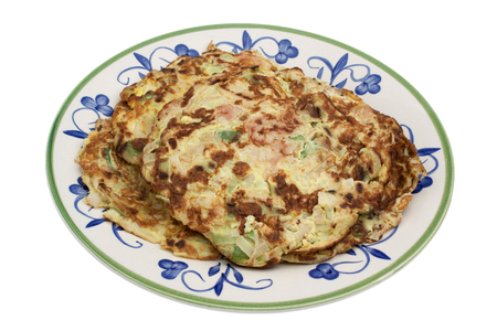 Omlette with vegetables