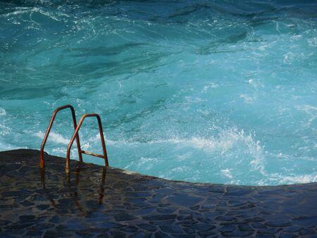 swell: Sea pool in Tenerife at swell
