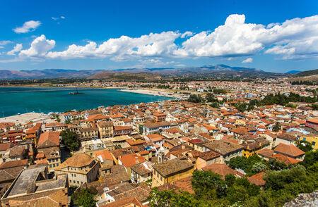 Cityview Nafplio, Greece Standard-Bild