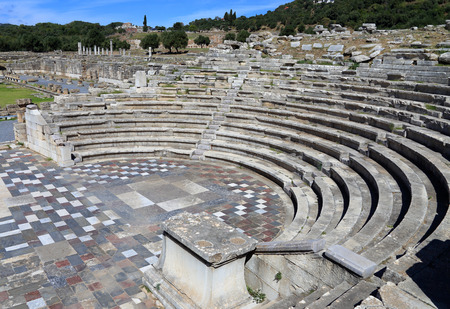 messenia: The ruins in ancient city of Messene,  Greece