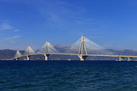 Rio - Antirio suspension bridge, Patra, Greece