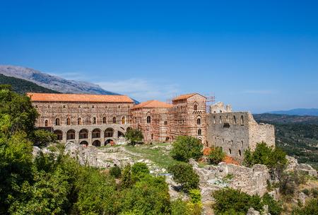 peloponnes: Byzantine city of Mystras, Peloponnes, Greece