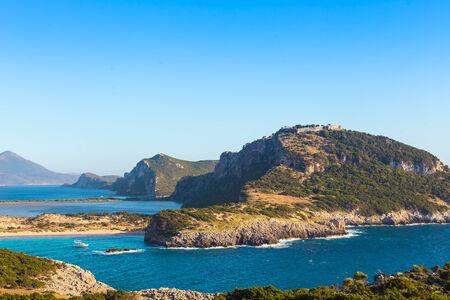 messinia: seascape of Ionion sea