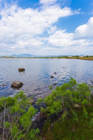 messenia: autumn in lake, Messenia Stock Photo