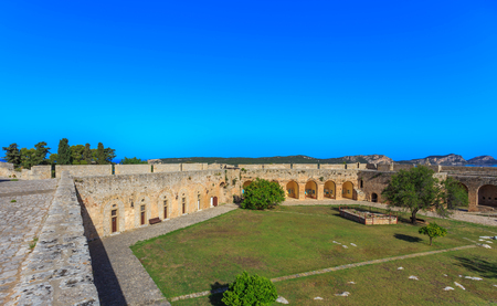view on Nvarino bay inside the Neokastro fortress