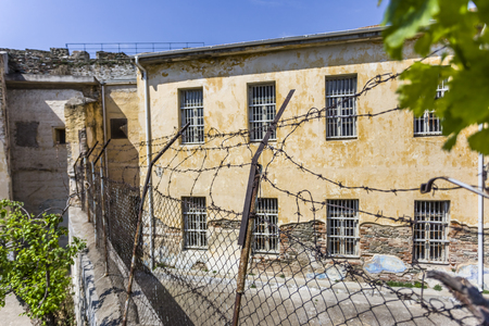 old jail inside the Yedi Koule fortress