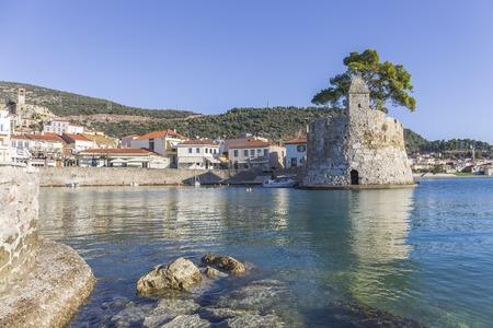 seashore fortress of Nafpaktos, Greece Stock Photo