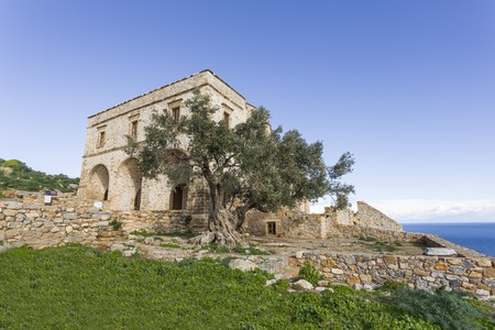 church of Panagia Odigitria in Byzantine town of Monemvasia