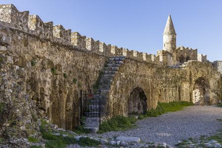 seashore fortress of Nafpaktos, Greece 05 JAN 2018