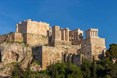 Erechtheum, Acropolis hill in Athens
