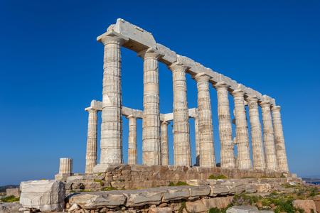 ruins ot the temple of Poseidon