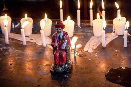 Maximon cult in Guatemala