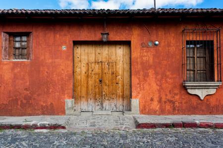 refurbished: Colonial house well refurbished Antigua Guatemala