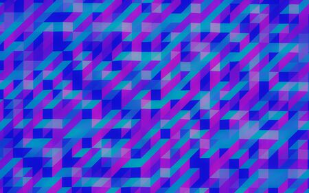 blue and violet squares retro background texture illustration