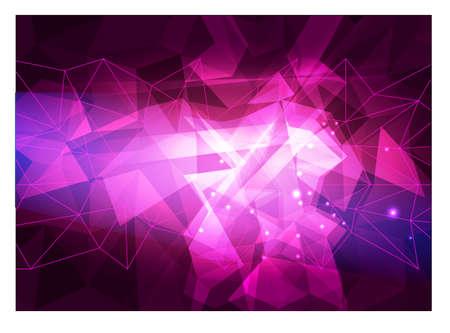Polygonal Mosaic Background, Vector illustration, Creative Business Design Templates. Vector geometry futuristic decoration 向量圖像