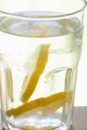 closeup of a fresh homemade lemonade Stock Photo