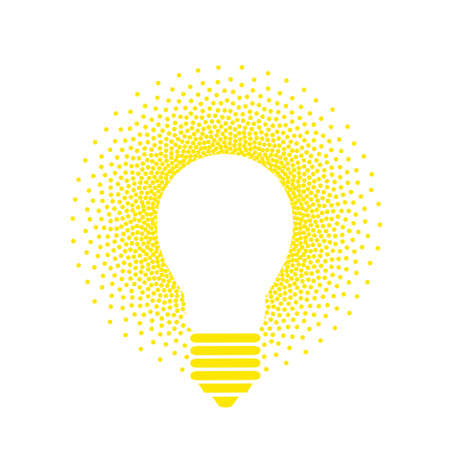 Luminous lamp illustration