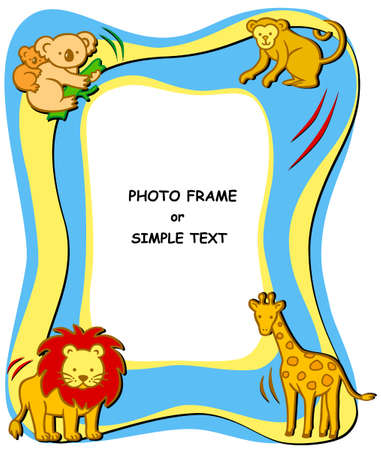 Photo or text frame