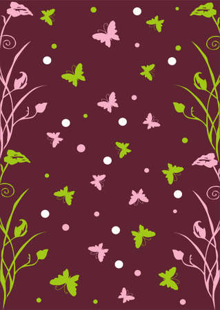 butterfly cover Vector