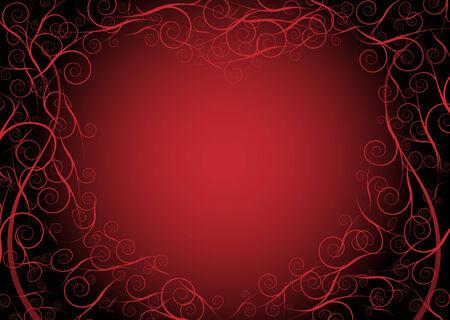 claret red: coraz�n en forma de marco de fondo