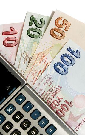 turkish lira: turkish lira and calculator