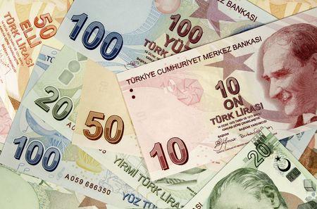 turkish lira Stock Photo - 4375929