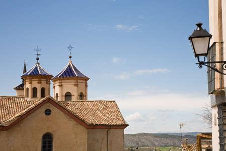 oratoria: El exterior del Oratorio de San Felipe Neri, una famosa iglesia en Cuenca, Espa�a Foto de archivo