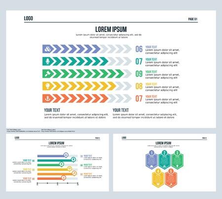 Presentation slide and template set