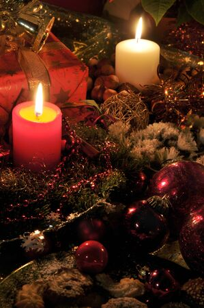 adventskranz: feature photo christmas