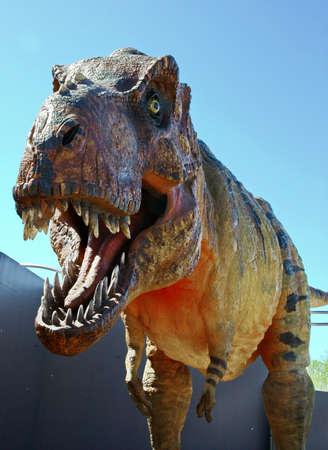 Fearsome carnivore dinosaur Tyrannosaurus Rex