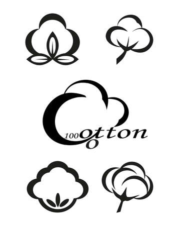 cotton: Icons indicating the cotton or cotton products