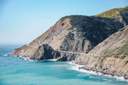 big sur: Bridge in california, big sur