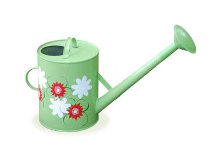 wateringcan: Watering-can, garden tool, for flowers and plants.
