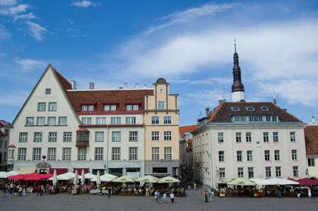 tallinn: Tallinn, Estonia, cityscape, sky, houses Stock Photo