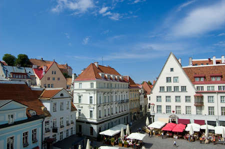 travel features: Tallinn, Estonia, old city, streets, cityscape