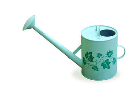 Watering-can for garden with ornate Stock Photo - 3338677