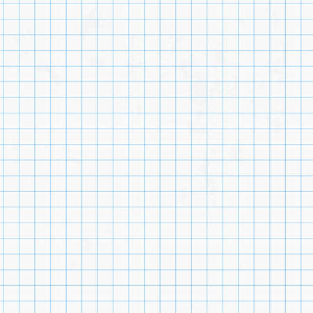 graphing: White squared graph paper seamless sheet texture