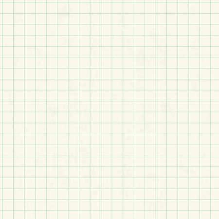Blanc au carré du papier quadrillé feuille seamless texture, vecteur, fond Vecteurs